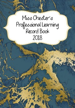 Professional Learning Record Book #17