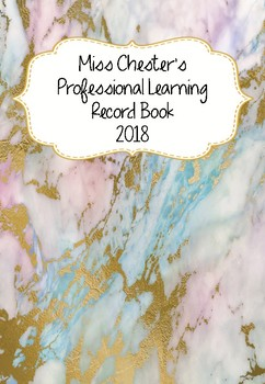 Professional Learning Record Book #20