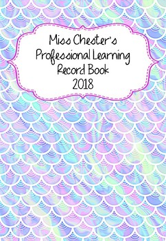 Professional Learning Record Book #24