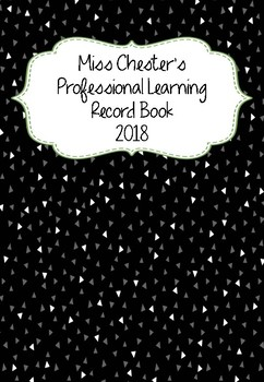 Professional Learning Record Book #25