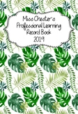 Professional Learning Record Book #26