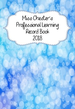 Professional Learning Record Book #3