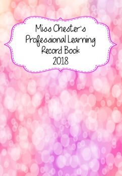 Professional Learning Record Book #6