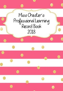 Professional Learning Record Book #7