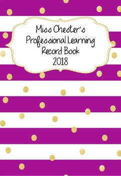 Professional Learning Record Book #8