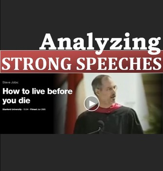 Professional Life (A): Analyzing Strong Speeches Activity  (Adult ESL)