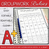 Collaborative Learning - Groupwork Rubrics