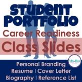 Professional Portfolio | SLIDES & Lesson | Career Readiness