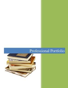 Professional Portfolio for Teachers