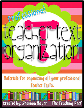Professional Teacher Text Organization