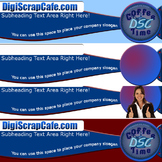 Professional Website Header Package PSD Photoshop Commerci
