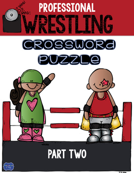 Professional Wrestling Crossword Part 2