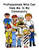 Professional community helpers - people who can help us in