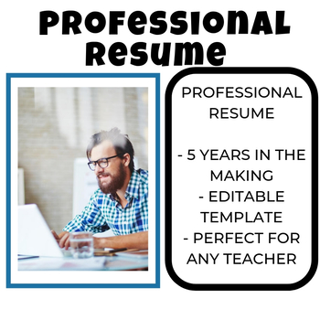 Resume Secondary Teacher