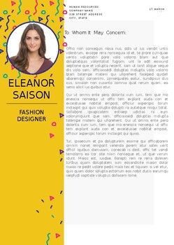 Professionally designed resume template, and cover letter.