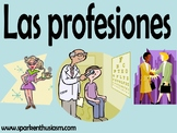 Professions (Las profesiones) Power Point in Spanish