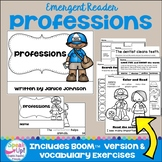 Professions ~ Occupations/Community members Reader plus BOOM™ version with Audio