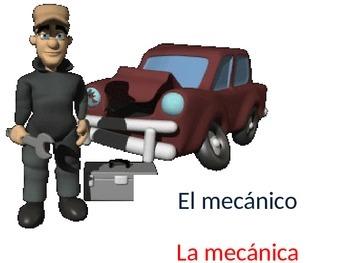 Professions Vocabulary Animated
