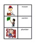 Professions in English Vocabulary Concentration games