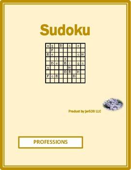 Professions in English Sudoku