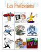 Professions in French Bingo