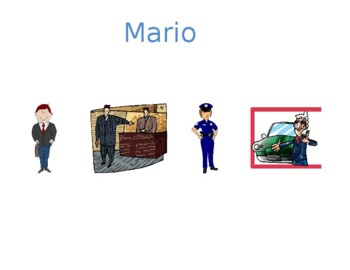 Professioni (Professions in Italian) Detectives Speaking activity