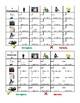 Professioni (Professions in Italian) Grid Vocabulary activity