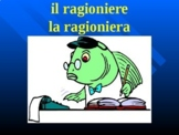Professioni (Professions in Italian) PowerPoint