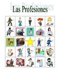 Profesiones (Professions in Spanish) Bingo