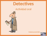 Professions in Spanish and Portuguese Detectives Speaking Activity