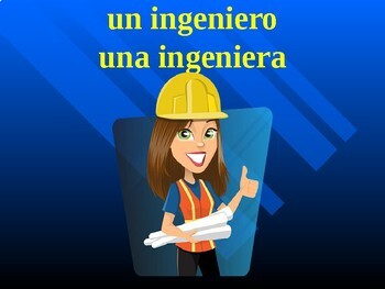 Professions in Spanish power point
