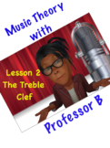 Professor B's Flash! Video Series:  Lesson 2 - The Treble Clef