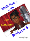 Professor B's Music Theory Lesson 1-The Music Staff
