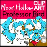 Professor Bird - Moon Hollow Clip Art
