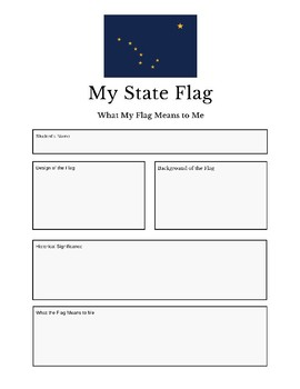 Professor Ladybug: Learn About Our State Flags Series, Alaska State Flag