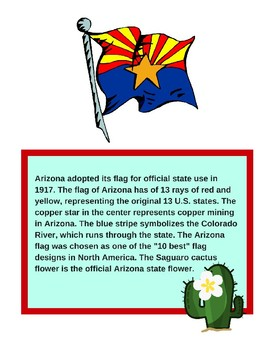 Professor Ladybug: Learn About Our State Flags Series, Arizona State Flag
