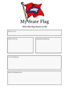 Professor Ladybug: Learn About Our State Flags Series, Arkansas State Flag