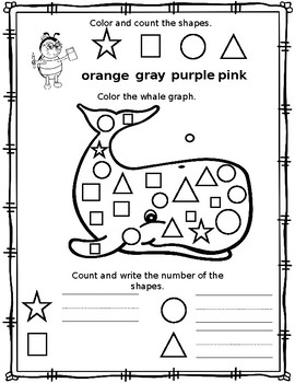 Professor Ladybug Teaches: Animals, Colors & Shapes (Simple Graphing Exercises)