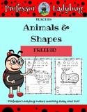 Professor Ladybug Teaches: Animals, Colors & Shapes (Simpl
