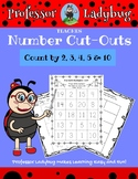 Professor Ladybug Teaches: Number Cut-Outs, Count by 2,3,4