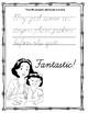 Professor Ladybug Teaches Pangrams: Cursive Alphabet Exercise Workbook