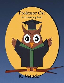 Professor Oz: A - Z Coloring Book