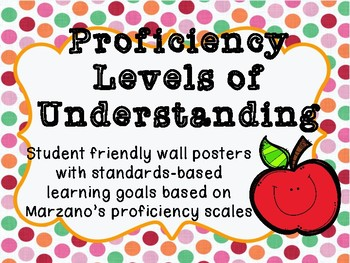Proficiency Levels Posters for Classroom