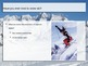 FREE: Proficiency Levels, Skiing (accompanies Proficiency Levels analogy assign)