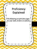 Proficiency Pathway Levels Explained