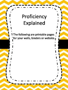 Proficiency Pathway Levels Explained