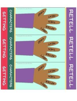 Proficient Retell Bookmarks