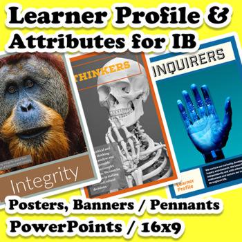 Profile & Attribute Posters & Slides Bundle for International Baccalaureate (IB)