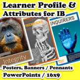 Profile & Attribute Posters & Slides Bundle for Internatio