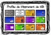 Profile de l'Apprenant de l'IB (Learner Profile posters for older students)